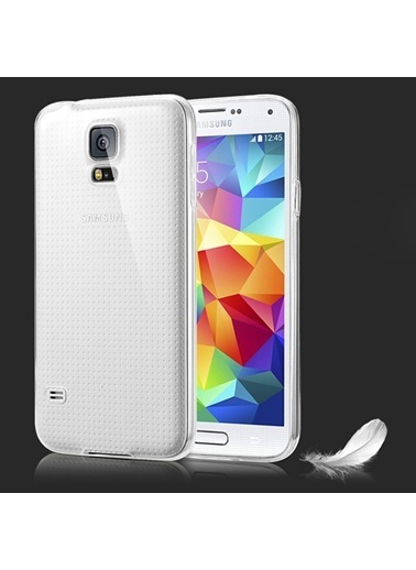 Microsonic Galaxy S5 Clear Soft Şeffaf Kılıf Renkli